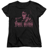 Womens: Elvis Presley - The King Shirts