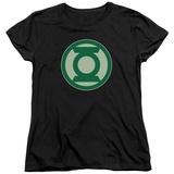 Womens: Green Lantern - Green Symbol Shirt