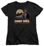 Womens: Knight Rider - Full Moon T-shirts