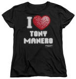 Womens: Saturday Night Fever - I Heart Tony T-shirts