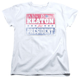 Womens: Family Ties - Alex For President T-shirts