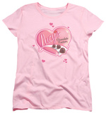 Womens: I Love Lucy - Chocolate Smudges T-Shirt