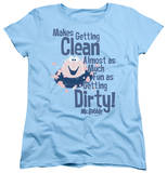 Womens: Mr Bubble - Clean And Dirty T-shirts