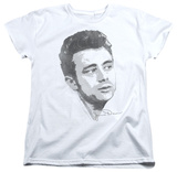 Womens: James Dean - Vintage Face T-Shirt