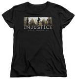 Womens: Injustice: Gods Among Us - Logo T-Shirt