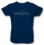 Womens: Dragonslayer - Crest T-Shirt