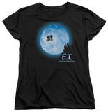 Womens: E.T. - Moon Scene T-shirts