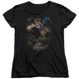 Womens: Jurassic Park - Happy Family T-Shirt