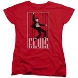 Womens: Elvis Presley - One Jailhouse Shirt
