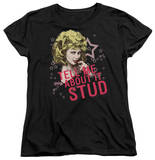 Womens: Grease - Tell Me About It Stud T-Shirt