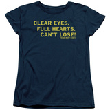 Womens: Friday Night Lights - Clear Eyes T-shirts
