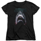 Womens: Jaws - Terror In The Deep T-Shirt