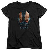 Womens: Dark Knight Rises - Painted Bane T-Shirt