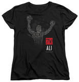 Womens: Muhammad Ali - 70 Arms Raised Shirts