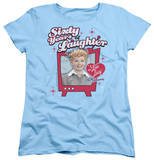Womens: I Love Lucy - 60 Years Of Laughter T-shirts