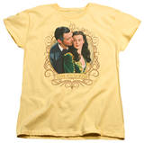 Womens: Gone With The Wind - Gone Scrolling T-shirts