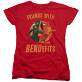 Womens: Gumby - Bendefits T-shirts