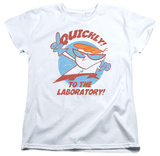 Womens: Dexter's Laboratory - Quickly Shirts