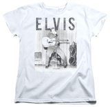 Womens: Elvis Presley - With The Band Shirts