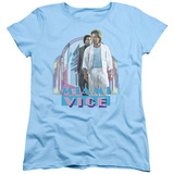 Womens: Miami Vice - Miami Heat Shirts