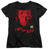 Womens: Hellboy II - I Bet On Red Shirts