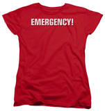Womens: Emergency - Logo T-shirts