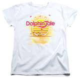 Womens: Dolphin Tale - Sunset Shirts