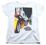 Womens: Fast & Furious Tokyo Drift - Poster T-Shirt