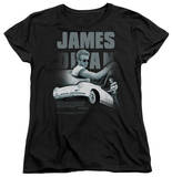 Womens: James Dean - Immortality Quote T-Shirt