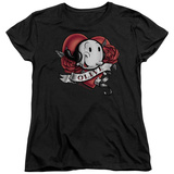 Womens: Popeye - Olive Tattoo Shirts