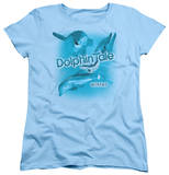 Womens: Dolphin Tale - Winter Collage T-shirts