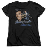 Womens: Elvis Presley - Blue Suede Shoes Shirts