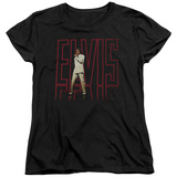 Womens: Elvis Presley - Elvis 68 Album T-Shirt