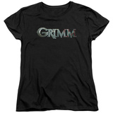 Womens: Grimm - Bloody Logo T-Shirt