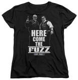 Womens: Hot Fuzz - Here Come The Fuzz Shirts