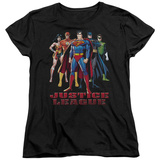 Womens: Justice League - In League T-shirts