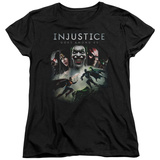 Womens: Injustice: Gods Among Us - Key Art T-Shirt