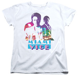 Womens: Miami Vice - Crockett And Tubbs T-shirts