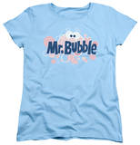 Womens: Mr Bubble - Eye Logo T-Shirt