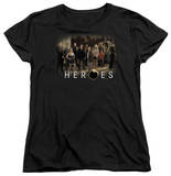 Womens: Heroes - Cast T-Shirt