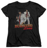 Womens: Elvis Presley - Burning Love Shirts