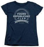 Womens: Family Ties - Young Republicans Club T-Shirt