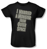 Womens: I Married a Monster From Outer Space - Title T-Shirt