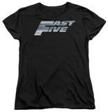Womens: Fast Five - Logo T-Shirt
