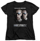 Womens: Hot Fuzz - Big Cops T-shirts