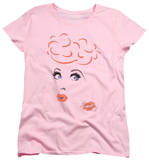 Womens: I Love Lucy - Eyelashes T-Shirt