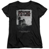 Womens: Psycho - House Poster T-shirty