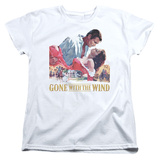 Womens: Gone With the Wind - On Fire Shirts