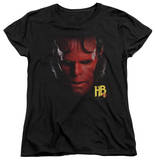 Womens: Hellboy II - Hellboy Head T-shirts