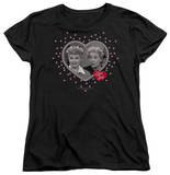 Womens: I Love Lucy - Hearts And Dots T-shirts